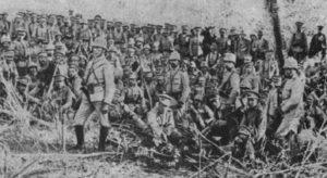 Gruppe portugiesischer Expeditionstruppen