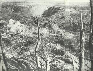 Ortschaft Beaumont-Hamel Somme-Schlacht