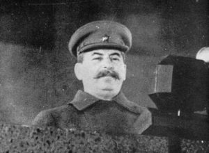 Stalin Jahrestag der Sowjetischen Oktoberr-Revolution 1941