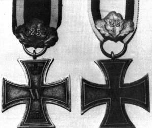 Eisernes Kreuz II. Klasse 1870