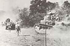 Japanische Truppen stossen auf Manila vor