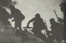 Angriff britischer Kommando-Soldaten