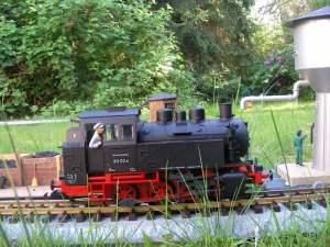 Dampflokomotive BR80 (Modell-Hersteller: PIKO)