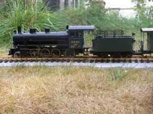 Dampflokomotive G4/5 108