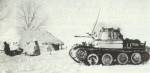 PzKpfw 38(t) und eine 2-cm Flak an der Ostfront
