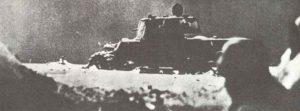 abgeschossener KW-1 vor Moskau
