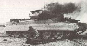 Erste Hilfe für Panzerbesatzung
