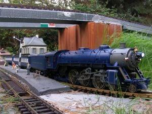 PACIFIC 4-6-2 Dampflokomotive