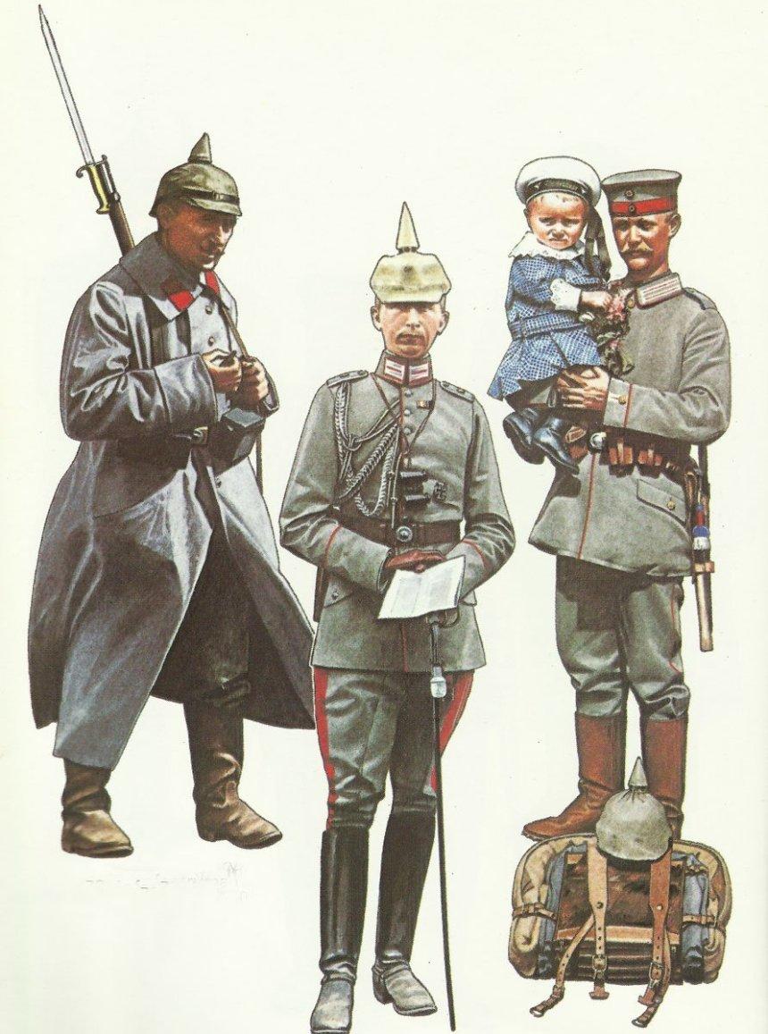 Deutsche Uniformen 1914-16
