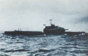 französische Unterseekreuzer Surcouf