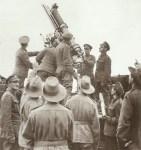 britische 13-Pfünder Fla-Kanone