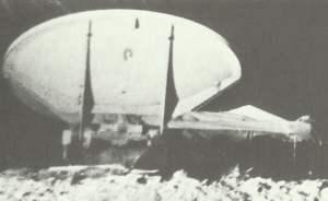 Würzburg-Radargerätes bei Bruneval.