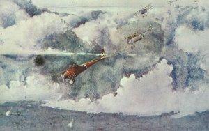 Angriff deutscher Albatros-Jäger