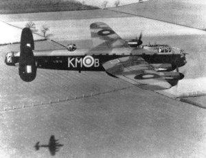 erste Lancaster-Bomber