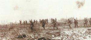 Kanadische Soldaten Vimy