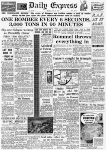 Daily Express: 1000-Bomber-Angriff