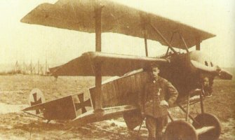 Heinrich Gontermann Fokker Dr.I