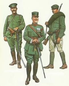 Uniformen griechische Armee