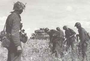 deutsche Pioniere räumen russische Panzerminen