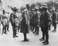 Inspektion österreich-ungarischer Truppen im Alpenraum