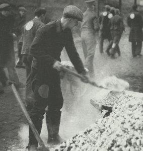 Deutsche Kriegsgefangene in einem britischen Lager