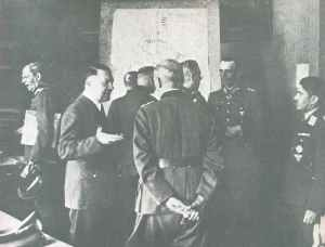 Lagebesprechung  Führerhauptquartier
