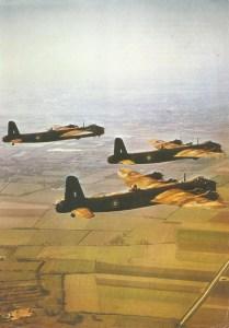 Formation von Stirling-Bombern