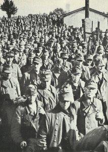 entlassene Kriegsgefangene 1946