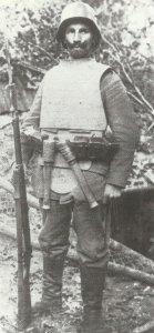 Infanterist einer Sturmeinheit