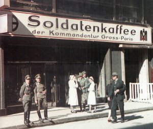 'Soldatenkaffee' in Paris