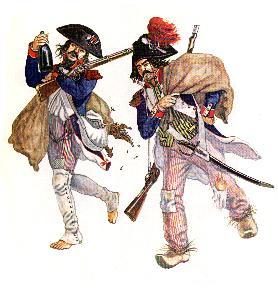 Französische Nationalgarde 1793