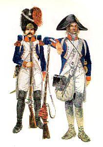 Grenadier und Füsilier aus Demi-Brigaden