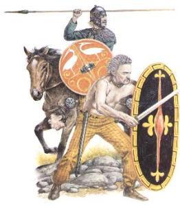 Keltische Krieger Hannibals