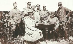 Verhör von russischen Offizieren