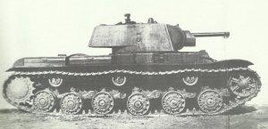 erste Serie der KW-1 Modell 1940