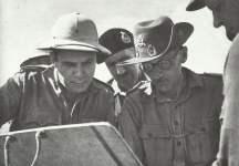 General Montgomery bei El Alamein