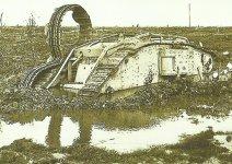 Tank im Schlamm