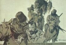 Ex-Zar Nikolaus auf dem Weg nach Sibirien