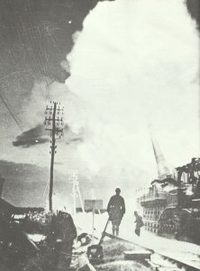 französisches Eisenbahngeschütz