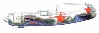 La-5 Winter 1942/43