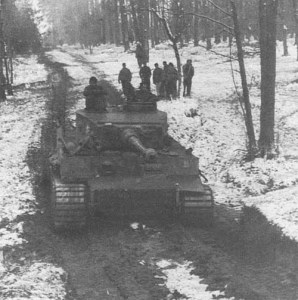 Tiger von 'Das Reich'