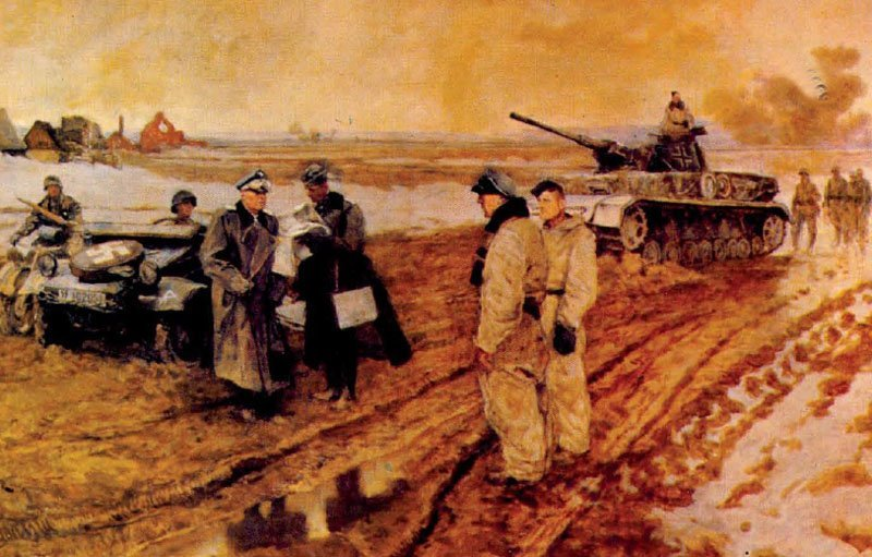 Steiner Wiking-Division Befehlsausgabe