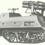 Panzerwerfer 42 auf SdKfz 4/1 Maultier
