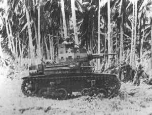 M2-Panzer auf Guadalcanal