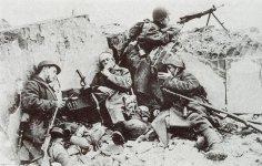 Russische Soldaten Stalingrad