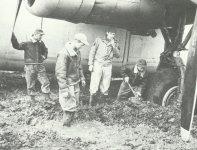 B-24 im Schlamm voin Tunesien