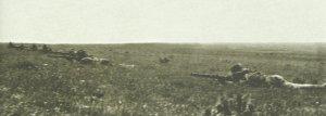 Abgesessene australische berittene Infanterie