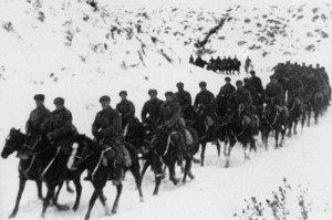 Russische Kavallerie