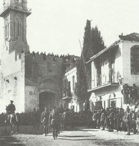 Allenby betritt Jerusalem