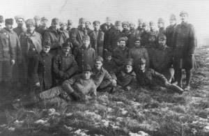 Fraternisation zwischen österreich-ungarischen und russischen Soldaten